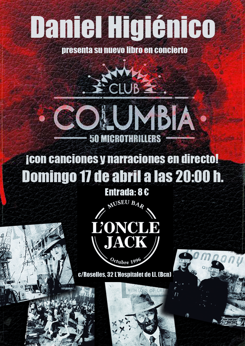 cartel CLUB COLUMBIA oncle