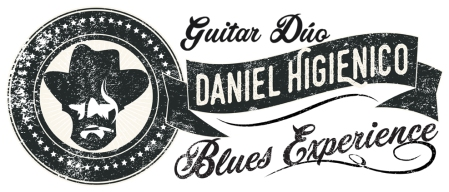 Daniel Higienico Blues Experience logo dúo